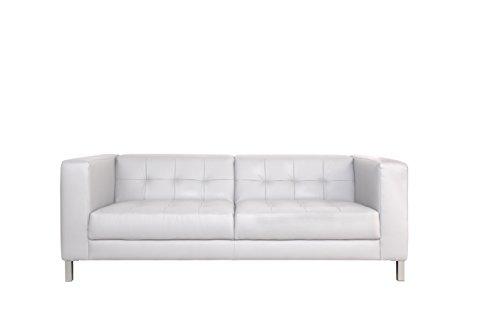 Canapé fixe 3 places Blanc