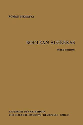 Boolean Algebras