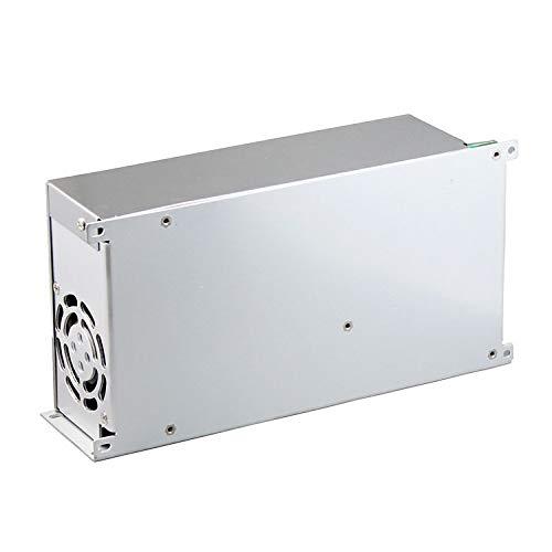 RPS Transformador de fuente de alimentación de 220vAC a 24vDC para luces de tira de LED o RGB 24x12x7cm DC 20A 480W