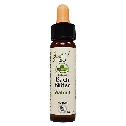 Walnut Nr. 33 Just´s Original englische BIO Bachblüten Walnuss Blütentherapie für Mensch und Tier