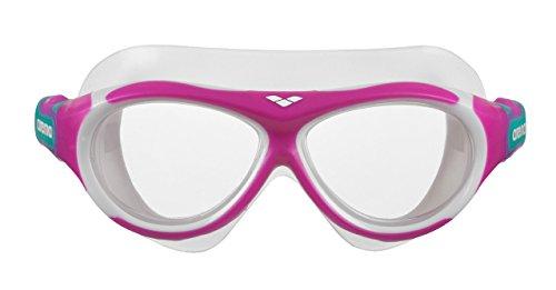 arena 1e034 Lunettes de piscine-Mixte Enfant-Rose (Pink-Clear (90))-Taille unique