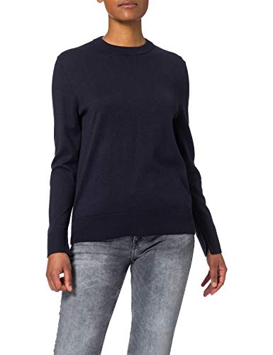 BOSS Womens C_Fibinna 10228696 01 Sweater, Open Blue466, L