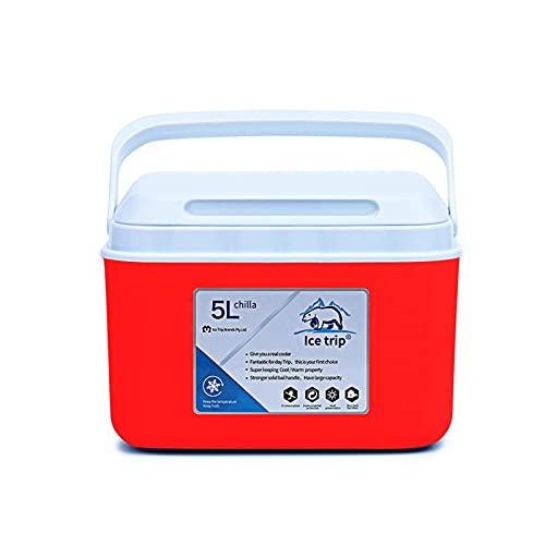 iBaste Nevera portátil para alimentos, de 5 litros, para exteriores, para picnics,