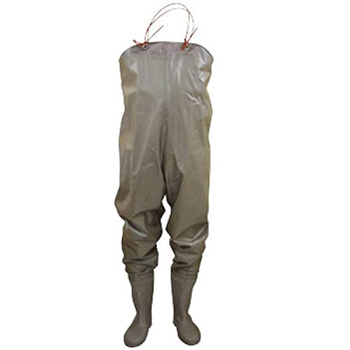 オカモト/作業靴 長靴・ゴム長/PVC胴付長靴/ カラー:ブラウン サイズ:S(24.0cm) 品番:80230