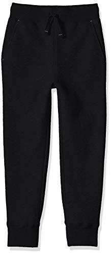 Amazon Essentials Boys' Fleece Jogger Sweatpants, Schwarz, XS