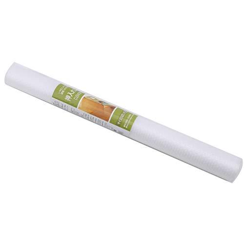 Jixing Drawer Liner rutschfeste Mehrzweckschrank-Regalmatte wasserdichte halbtransparente Eva-Schubladenmatten, 45 * 150 cm