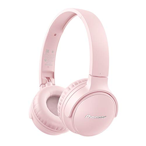 Pioneer S3 Wireless On-Ear Bluetooth 5.0 Headphones (Foldable 25 Hour...