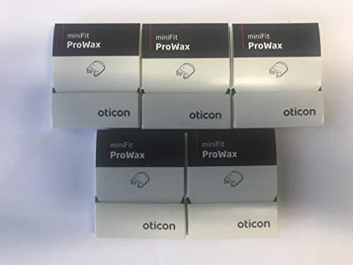 Oticon Bernafon Prowax Minifit Wachsfilter 2020, 5 Packungen