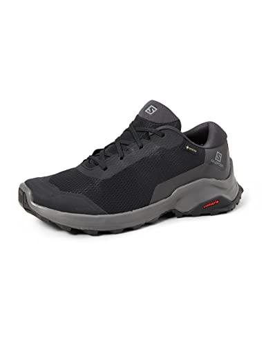 Salomon X Reveal Gore-Tex (impermeable) Hombre Zapatos de trekking, Negro (Black/Phantom/Magnet), 43 1/3 EU