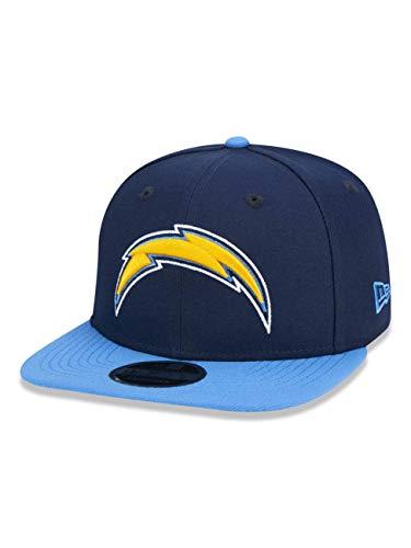 BONE 9FIFTY ORIGINAL FIT ABA RETA AJUSTAVEL NFL LOS ANGELES CHARGES ABA RETA SNAPBACK MARINHO NEW ERA