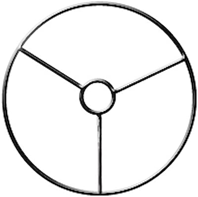 Armature abat-jour cercle avec bague Ø 10 cm - Graines créatives