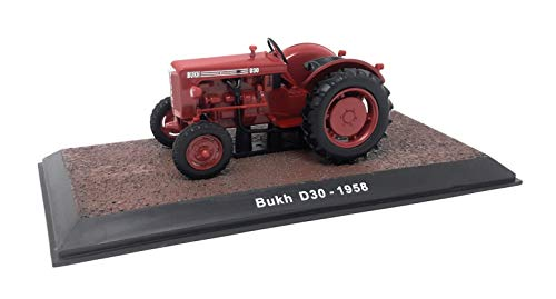 Atlas DieCast Metall Miniaturmodelle Modellauto 1:32 Historischer Traktor 1958 Bukh D 30