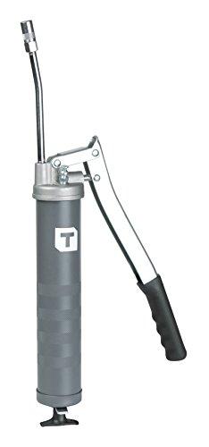 Tecalemit 011681021 Hebelfettpresse eco mit Düsenrohr und Greifkupplung Grey 150 mm