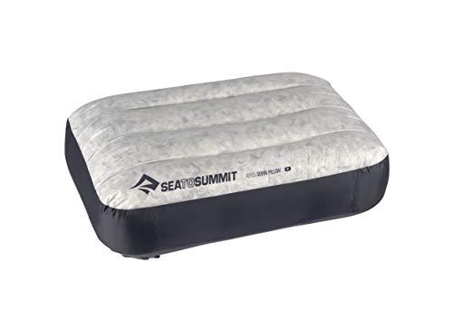 Sea to Summit Aeros Down Inflatable Pillow, Regular (13.5 x 9.5), Grey
