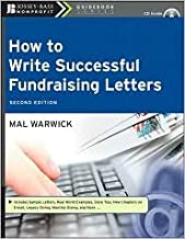 How to Write Successful Fundraising Letters, with CD (The Jossey-Bass Nonprofit Guidebook Series) 2nd (second) edition Text Only
