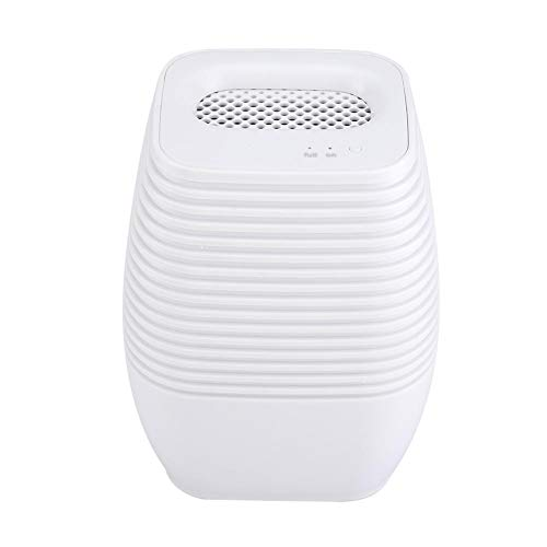 Great Deal! Lazmin Small Electric Dehumidifier, Quiet Mini Portable Dehumidifier Off Automatically f...