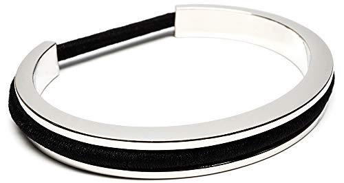 My Hair Tie Bracelet: Ella Design Hair Tie Bracelet - Stainless Steel Hair Tie Holder - Functional...