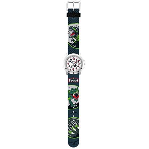 SCOUT Uhren Jungen Analog Quarz Uhr mit Kunststoffband Armband 1