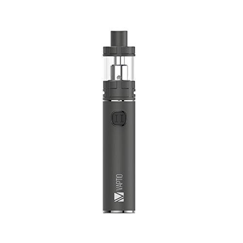Vaptio C-II Kit, 100 W Elektronische Zigaretten ,No Nicotine (4ml, grau)