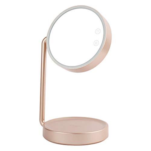 Huazhuangjing Handspiegel waarde online schoonheid, led-make-upspiegel tafellamp te verlichten