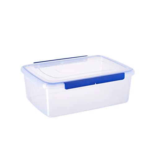 YARNOW Recipientes de Almacenamiento de Alimentos de 10 L con Tapas Recipientes Pequeños Juegos de Recipientes de Alimentos con Tapas Aptos para Microondas Lavavajillas Congelador