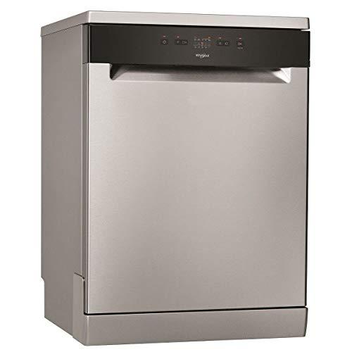 Lave vaisselle Whirlpool WRFE2B16X - Lave vaisselle 60 cm - Classe A+ / 46 decibels - 13 couverts - Inox bandeau : Noir - Pose libre
