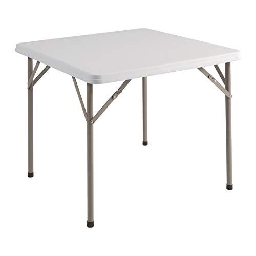 Bolero Y807 - Mesa cuadrada plegable Bolero 86 cm
