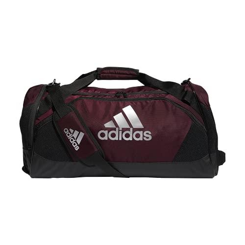 adidas Team Issue II Medium Duffel Bag, Team Maroon