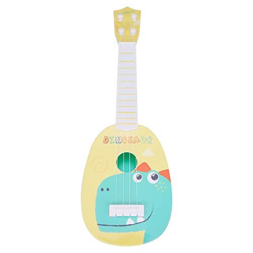 HEALLILY Guitarra Ukelele para Niños Juguete 4 Cuerdas Instrumentos Musicales Juguetes Educativos para Principiantes