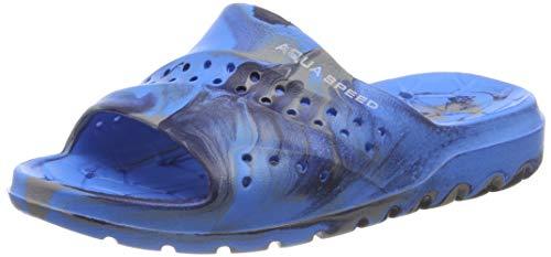 Aqua-Speed Herren Patmos Kinder Poolschuhe XL Blue/Grey/Navy