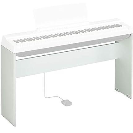 Yamaha L-125 - Soporte compacto de madera para piano digital Yamaha P-125, color Blanco