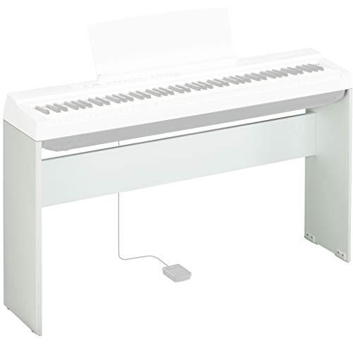Yamaha L-125WH, Supporto per Pianoforte Digitale Yamaha P-125, Design Compatto e Resistente in legno, Bianco