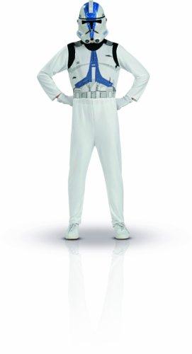 Rubies - Disfraz de clone trooper con casco, talla S