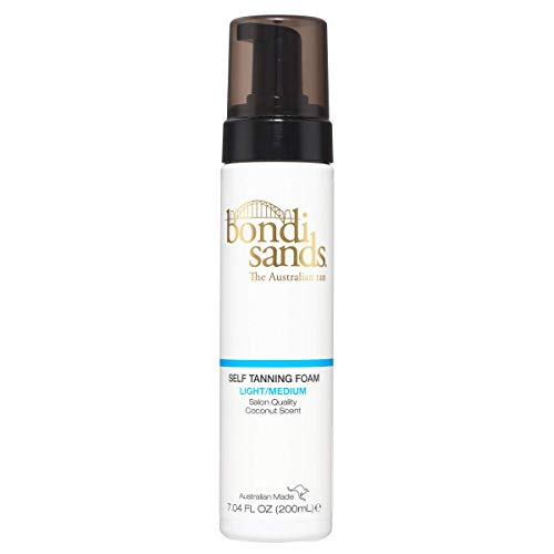 Bondi Sands - Salon Quality Self Tanning Foam for Smooth, Natural Bronzed Skin - Light/Medium - 6.76 Fl Oz by Bondi Sands