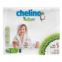 Pañales Chelino nature talla 5 (13-18 kg) 30 uds