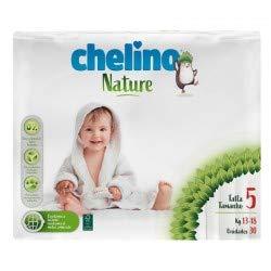 Pannolini Chelino Nature taglia 5 (13-18 kg) 30 pz