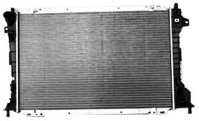 Price comparison product image TYC 2157 Compatible with Ford / Lincoln 1-Row Plastic Aluminum Replacement Radiator