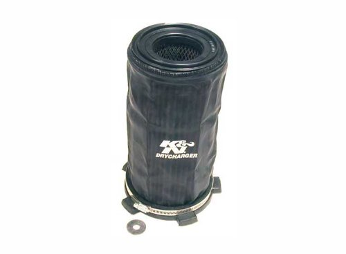 55-1001 K&N Overdekte montage OFF-ROAD; AIR FILTER KIT; (UMP AIR BOX W/4