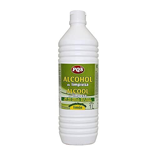 PQS - Alcohol de Limpieza, Limón, 1 unidad de 1L