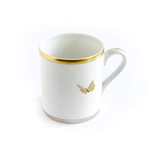 The Cocoonalist - Taza de café y bebidas, porcelana de limoges con...