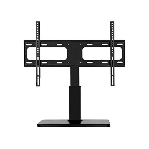 GAOJINXIURZ Soporte TV Ruedas Soporte TV Suelo Base De Soporte TV De Mesa For 32'- 60' TV TV Ajustable Alturas Girar 90 ° Pedestal TV Pedestal Soporte Sostiene 35kg (Color : B)