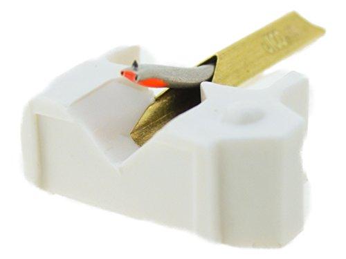 日本精機宝石工業株式会社 JICO レコード針 SHURE N-44-7/DJ用交換針 丸針 192-44-7/DJ シルバー