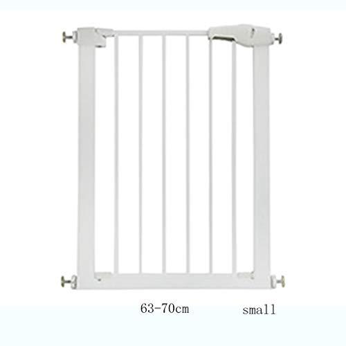 Yxsd deurbeschermingsrooster voor deuren en trappen, montage met druk, zonder boren, bescherming van poort voor kinderen