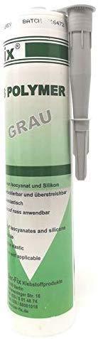 Ber-Fix® MS Polymer Grau - Montagekleber Dichtstoff auf dauer UV-beständig, Wetter-beständig, Süß- Salz- See-Wasser-fest, feuchtigkeits- und chlorbeständig. bindet selbst Unter- Wasser