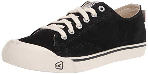 KEEN Herren Coronado 3 Suede Low Trainer Sneaker, Schwarz, 46 EU