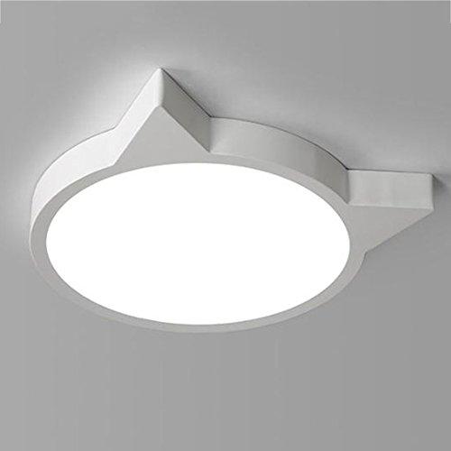 GPZ-iluminación de techo La lámpara de techo llevada de la habitación de los niños, luces creativas del dormitorio calienta la lámpara de la habitación de los niños y de las muchachas modernas románti