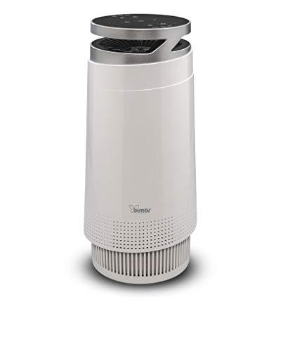 bimar PA98 Purificatore Aria WiFi con Filtro HEPA Alta Filtrazione a Carboni Attivi. Purificatore Aria Elimina Odori, Allergie, Pollini, Fumo per Casa o Ufficio. Compatibile Alexa e Google Assistant