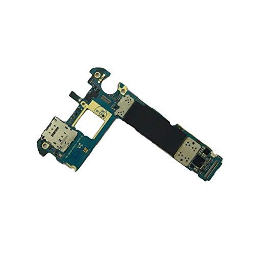 RKRXDH Mobiltelefon-Mainboard Mit System Fit for Samsung Galaxy S6 Rand 925F G925A G925FQ G925I G925P G925T G925V G9250 Motherboard, Original Freigeschaltete EU-Version Motherboard-Ersatz für