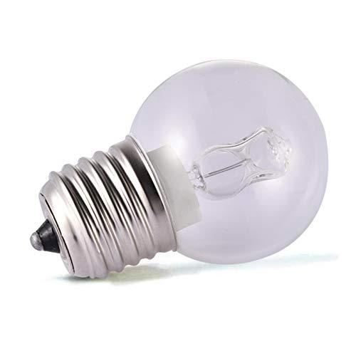 Augneveres Backofenlampe 40w 300 Grad Sauna Glühbirne-E27 40W Warmweiße Backofenlampe - Hitzebeständiges Licht 110-250V 500 ° C