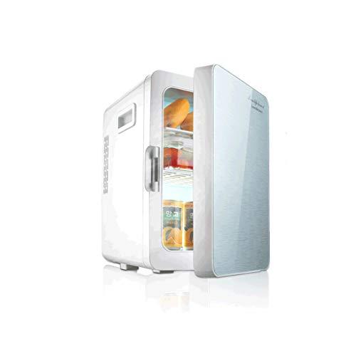 Car refrigerator Compresor de refrigeración portátil de 20 L, pequeño refrigerador, dormitorio con pequeño mini motor de alquiler casa doble propósito exquisito (color: B, tamaño: 20 L)